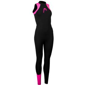 Head OW Explrr LJ 3.2.2 Traje Triatlón sin Mangas Mujer, negro/rosa